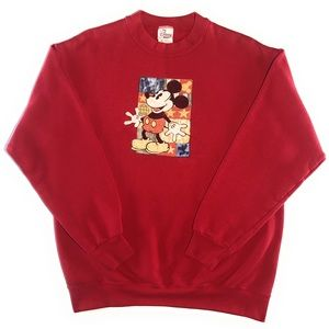 Vintage Disney Store Mickey Mouse Crewneck Sweater